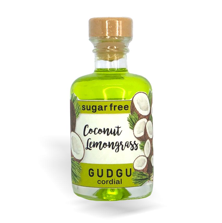 GUDGU Coconut Lemongrass Cordial 50ml