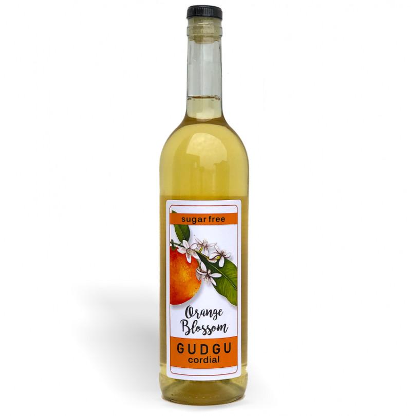 GUDGU Orange Blossom Cordial 750ml