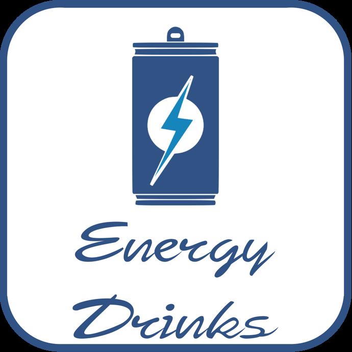 energy drinks icon